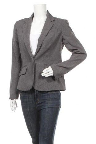 Дамско сако New York & Company, Размер M, Цвят Сив, Полиестер, Цена 12,50лв.