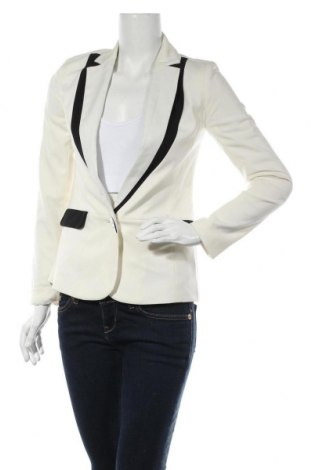 Дамско сако Nicole by Nicole Miller, Размер XS, Цвят Бял, 64% полиестер, 34% вискоза, 2% еластан, Цена 101,69лв.