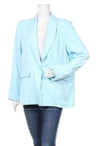 Дамско сако Nly Trend, Размер L, Цвят Син, 100% полиестер, Цена 24,96лв.