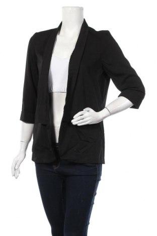 Дамско сако ONLY, Размер S, Цвят Черен, 96% полиестер, 4% еластан, Цена 8,09лв.
