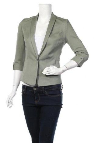 Дамско сако Orsay, Размер XS, Цвят Зелен, 97% памук, 3% еластан, Цена 37,49лв.