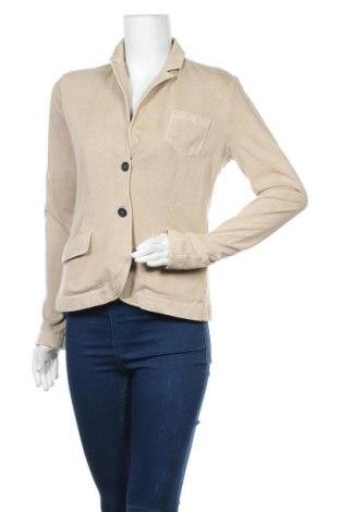 Дамско сако Pepe Jeans, Размер L, Цвят Бежов, Памук, Цена 72,45лв.