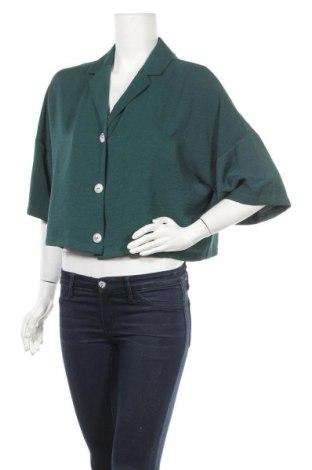 Дамско сако Primark, Размер L, Цвят Зелен, Полиестер, Цена 18,11лв.