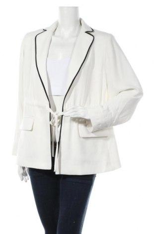 Дамско сако Rachel Roy, Размер XL, Цвят Екрю, Полиестер, Цена 98,55лв.