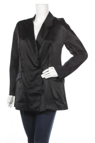 Дамско сако Reserved, Размер M, Цвят Черен, Вискоза, Цена 9,88лв.