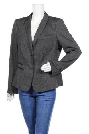 Дамско сако S.Oliver, Размер XL, Цвят Черен, 57% полиестер, 40% полиестер, 3% еластан, Цена 11,34лв.
