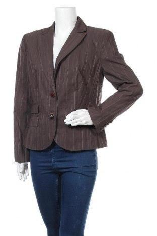 Дамско сако S.Oliver, Размер L, Цвят Кафяв, 57% памук, 41% полиамид, 2% полиестер, Цена 6,28лв.