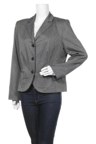 Дамско сако S.Oliver, Размер XL, Цвят Сив, 66% полиестер, 33% вискоза, 1% еластан, Цена 13,23лв.