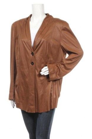 Дамско сако Samoon By Gerry Weber, Размер XL, Цвят Кафяв, Цена 6,83лв.
