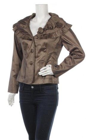Дамско сако Samuel Dong, Размер M, Цвят Кафяв, Цена 25,20лв.