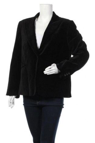 Дамско сако Tara, Размер XL, Цвят Черен, 98% памук, 2% еластан, Цена 21,26лв.