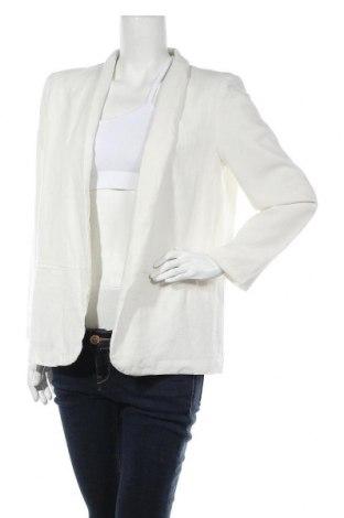 Дамско сако Vero Moda, Размер L, Цвят Екрю, 55% лен, 45% вискоза, Цена 44,82лв.