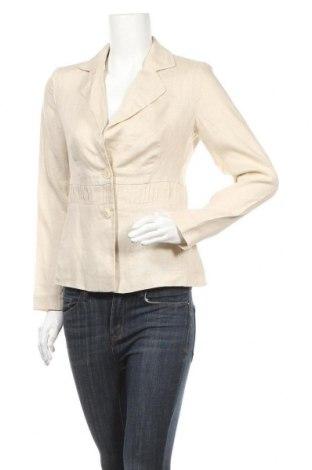 Γυναικείο σακάκι Viventy by Bernd Berger, Μέγεθος S, Χρώμα  Μπέζ, Λινό, Τιμή 5,46€