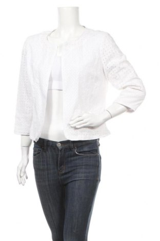 Дамско сако Willi Smith, Размер M, Цвят Бял, Памук, Цена 7,56лв.