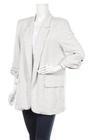 Дамско сако Zara, Размер XL, Цвят Сив, Цена 38,90лв.