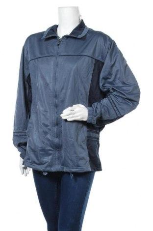 Γυναικεία αθλητική ζακέτα Kalamton, Μέγεθος XL, Χρώμα Μπλέ, Τιμή 6,37€