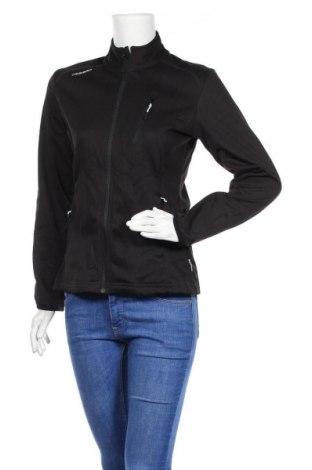 Дамско спортно яке, Размер M, Цвят Черен, 87% полиестер, 13% полиуретан, Цена 14,18лв.