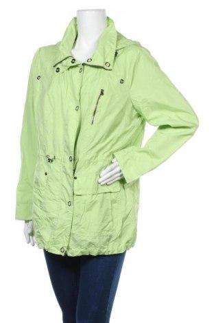 Дамско спортно яке Canda, Размер XXL, Цвят Зелен, 58% полиамид, 42% полиестер, Цена 37,80лв.