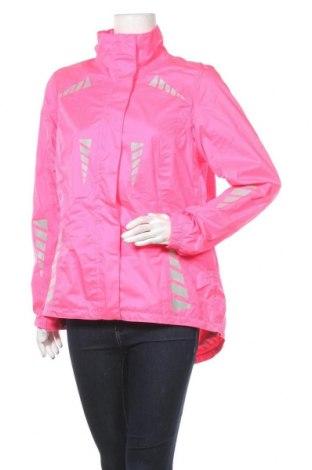 Дамско спортно яке Crane, Размер M, Цвят Розов, Полиестер, Цена 21,26лв.