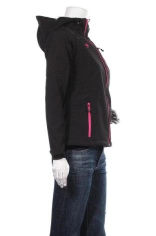 Дамско спортно яке Izas, Размер M, Цвят Черен, 96% полиестер, 4% еластан, Цена 40,05лв.