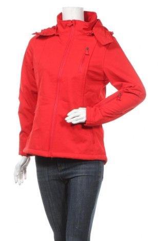 Дамско спортно яке Janina, Размер M, Цвят Червен, 96% полиестер, 4% еластан, Цена 30,24лв.