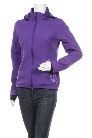 Дамско спортно яке Janina, Размер S, Цвят Лилав, 95% полиестер, 5% еластан, Цена 28,56лв.