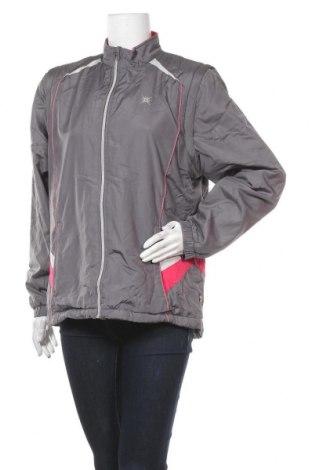 Дамско спортно яке Shamp, Размер L, Цвят Сив, Полиестер, Цена 11,03лв.