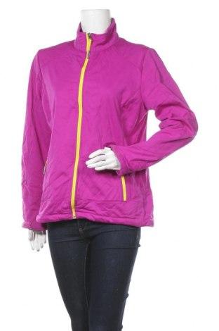 Дамско спортно яке Shamp, Размер L, Цвят Лилав, Полиестер, Цена 30,87лв.