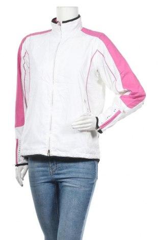 Дамско спортно яке TCM, Размер M, Цвят Бял, Полиестер, Цена 23,52лв.