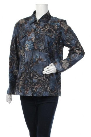Дамско яке, Размер L, Цвят Многоцветен, 64% памук, 34% полиестер, 2% еластан, Цена 34,97лв.