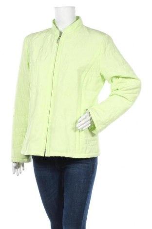Дамско яке, Размер L, Цвят Зелен, Полиестер, Цена 10,24лв.