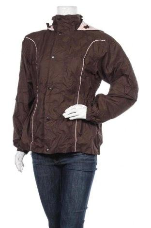 Дамско яке, Размер M, Цвят Кафяв, 100% полиестер, Цена 12,50лв.