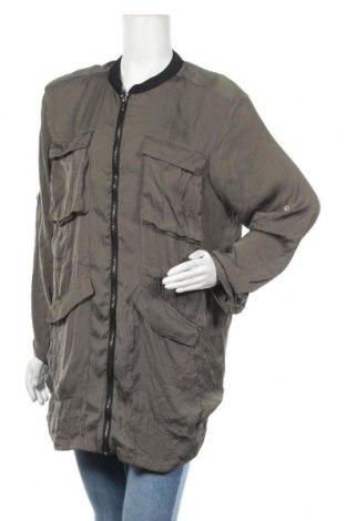 Дамско яке, Размер L, Цвят Зелен, Цена 35,91лв.