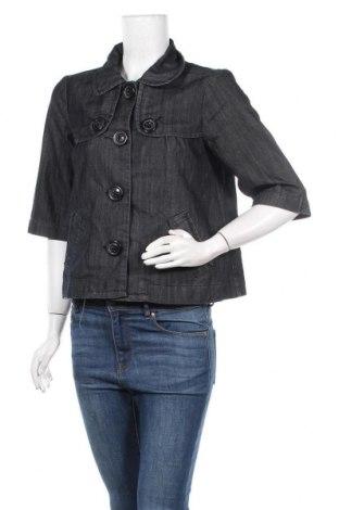 Дамско яке, Размер S, Цвят Син, 70% памук, 30% полиестер, Цена 10,38лв.