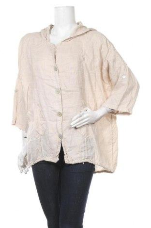 Дамско яке, Размер L, Цвят Бежов, Цена 8,40лв.