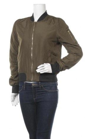 Дамско яке, Размер M, Цвят Зелен, 60% полиамид, 40% полиестер, Цена 10,08лв.