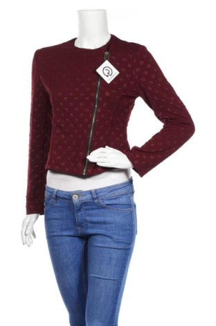 Дамско яке, Размер L, Цвят Червен, 95% полиестер, 5% еластан, Цена 30,14лв.