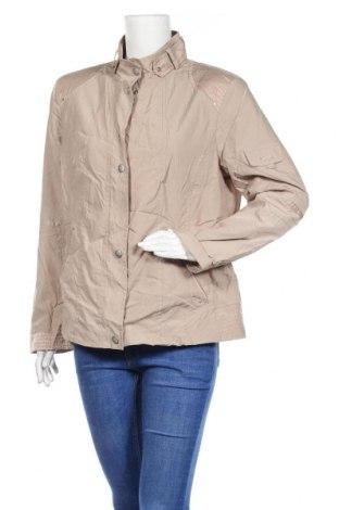 Дамско яке, Размер L, Цвят Бежов, 62% полиестер, 38% полиамид, Цена 9,01лв.