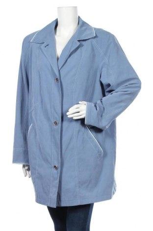 Дамско яке, Размер XXL, Цвят Син, 91% полиестер, 9% полиамид, Цена 8,40лв.