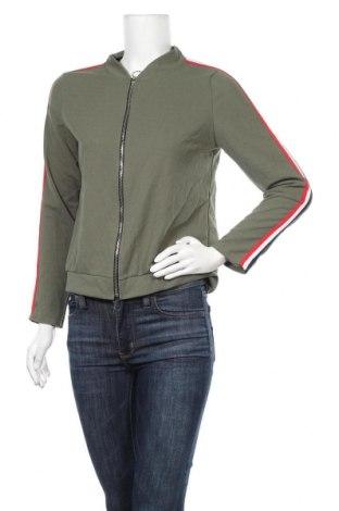 Дамско яке, Размер M, Цвят Зелен, 92% полиестер, 8% еластан, Цена 6,76лв.