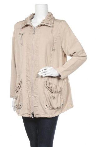 Дамско яке, Размер L, Цвят Бежов, 95% памук, 5% еластан, Цена 9,98лв.