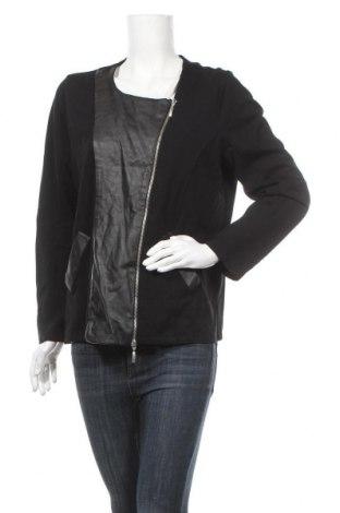 Дамско яке Anna Aura, Размер L, Цвят Черен, Текстил, еко кожа, Цена 55,97лв.