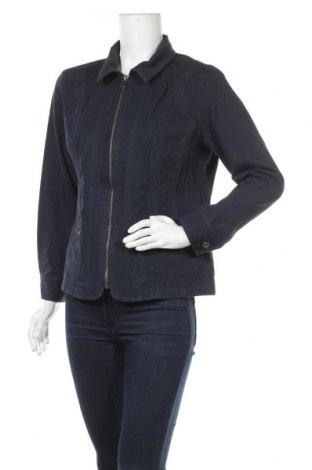 Γυναικείο μπουφάν Christopher & Banks, Μέγεθος M, Χρώμα Μπλέ, Βαμβάκι, Τιμή 8,36€