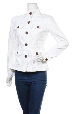 Γυναικείο μπουφάν Converse, Μέγεθος S, Χρώμα Λευκό, Βαμβάκι, Τιμή 19,42€