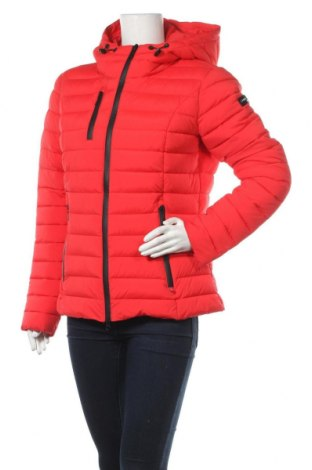 Γυναικείο μπουφάν Frieda & Freddies, Μέγεθος L, Χρώμα Κόκκινο, 90% πολυαμίδη, 10% ελαστάνη, Τιμή 74,02€