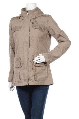 Дамско яке Gina, Размер L, Цвят Зелен, 70% памук, 30% полиестер, Цена 21,84лв.
