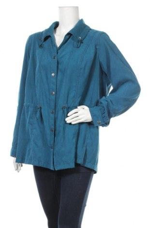 Дамско яке Gina Laura, Размер XL, Цвят Син, Полиестер, Цена 23,21лв.