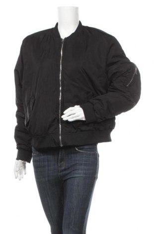 Дамско яке H&M, Размер 3XL, Цвят Черен, Полиестер, Цена 41,90лв.