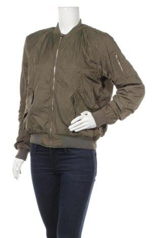 Дамско яке H&M, Размер S, Цвят Зелен, Полиестер, Цена 21,84лв.