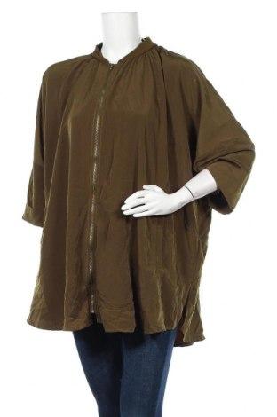 Дамско яке H&M, Размер M, Цвят Зелен, Полиестер, Цена 7,35лв.